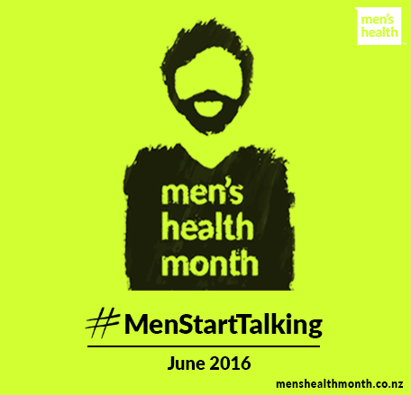 Men's Health Month #MenStartTalking.